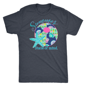 Summer State of Mind Unisex Triblend Tee