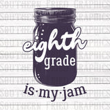 My Jam Grade Level Individual Digital Graphic-Your Choice of Grades