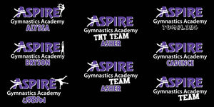 Aspire Gymnastics Decal