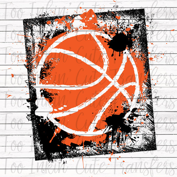 Basketball Graphic 3 Transfer