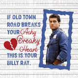 Achy Breaky Heart Billy Ray Graphic