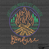 Just Living my Best Life around the Bonfire Graphic Set