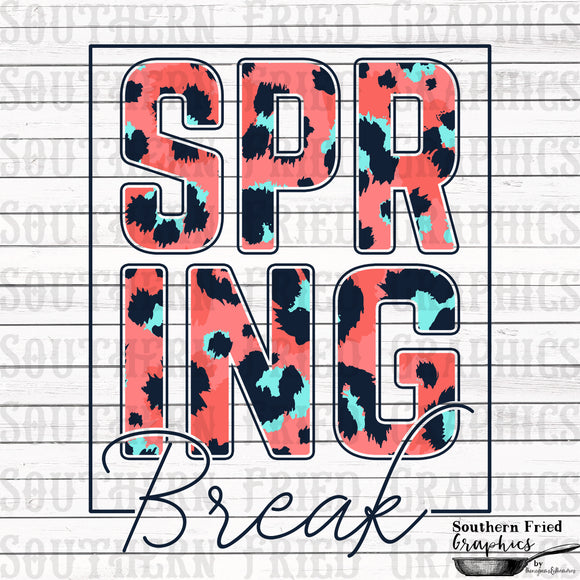 Spring Break V2 Printable Digital Graphic