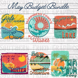 May 2019 Budget Bundle Digital Graphic Bundle