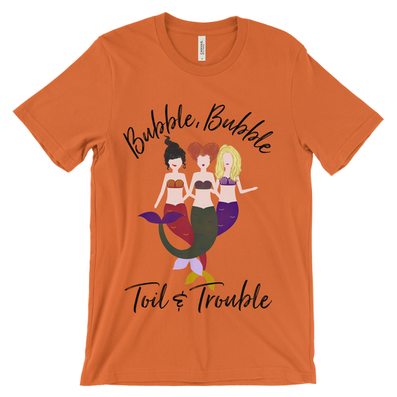 Bubble Bubble Toil & Trouble Hocus Pocus Inspired Unisex Jersey Short Sleeve Tee