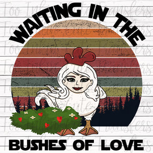 Waiting in the Bushes of Love Transfer