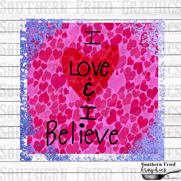 Love & Believe Young Artist Special Printable Digital Graphic