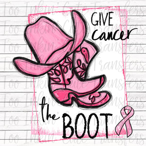 Give Cancer the Boot Transfer