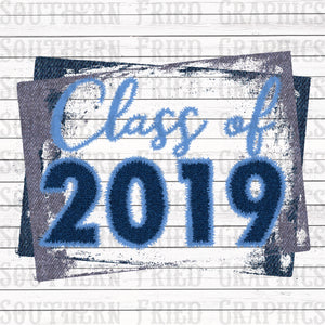 Denim Class of 2019 Graphic