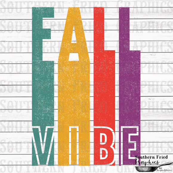 Fall Vibe Digital Graphic