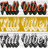 Fall Vibes Digital Graphic Mini Bundle