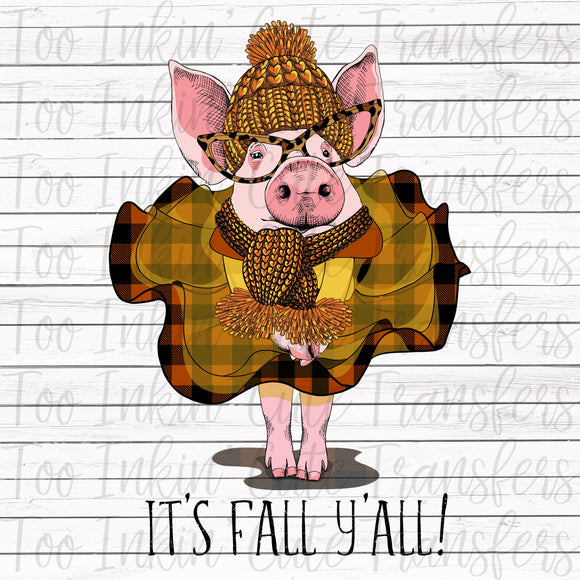 Fall Y'all Piggy Transfer