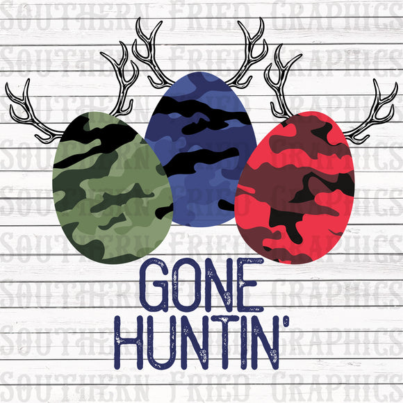 Gone Huntin' V2 Digital Graphic