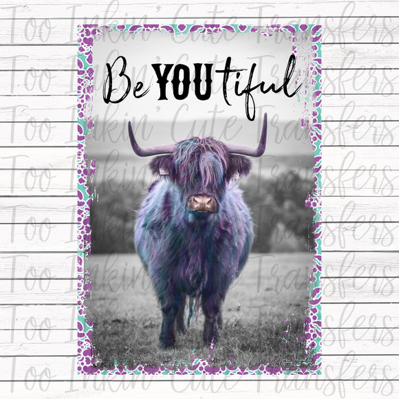 Be-You-Tiful Galaxy Cow Transfer