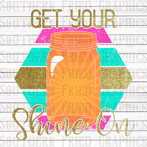 Preppy Get Your Shine On Graphic