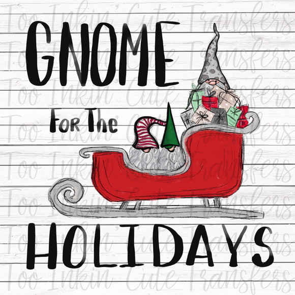 Gnome for the Holidays Transfer