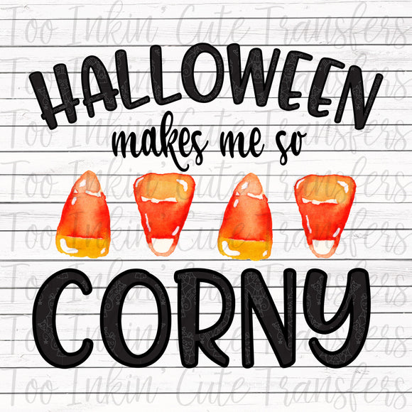 Halloween makes me Corny Transfer