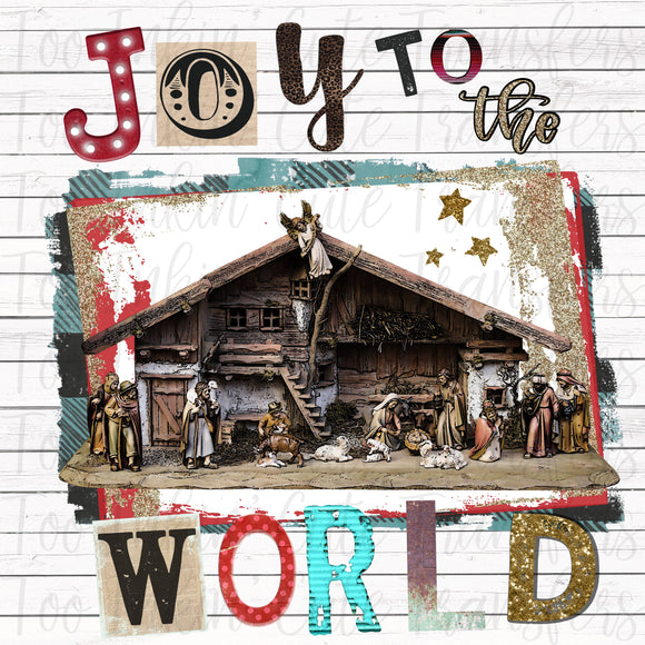 Joy to the World Nativity V2 Transfer