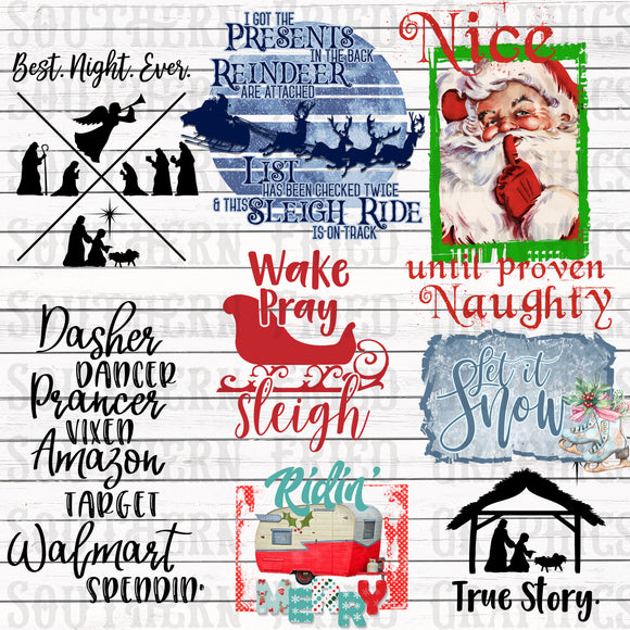 Christmas in July 2019 Budget Bundle Digital Graphic Bundle