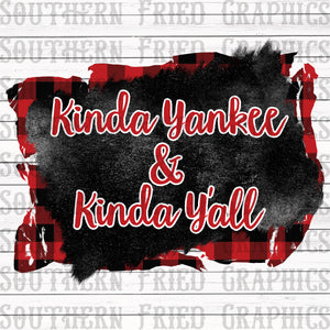 Kinda Yankee & Kinda Y'all Digital Graphic