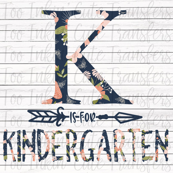K is for Kindergarten Transfer