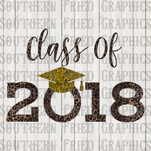 Leopard Class of 2018 Graphic