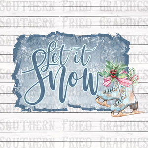 Let it Snow Graphic