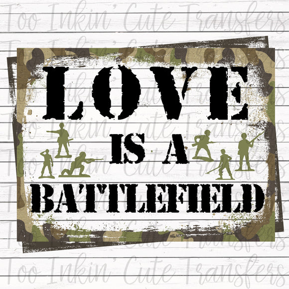 Love is a Battlefield Transfer