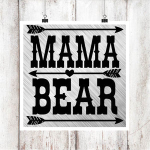 Mama Bear V2 Digital Graphics