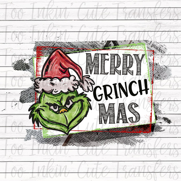 Merry Grinchmas Transfer