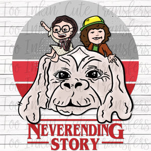 Neverending Story Fan Art Transfer
