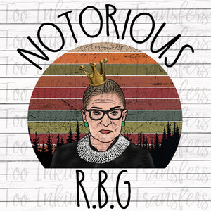 Notorious R.B.G. Transfer