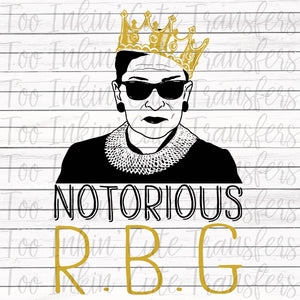 Notorious R.B.G. 2 Transfer