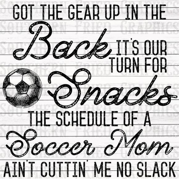 Old Town Road Inspired Soccer Mom Graphic