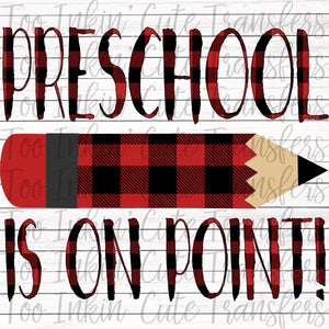 Plaid Preschool On Point Transfer