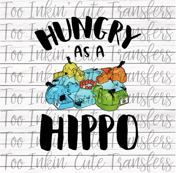 Hungry as a Hippo Transfer