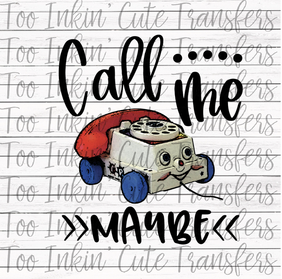 Call Me Maybe Transfer