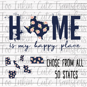 Home is my Happy Place- Transfer