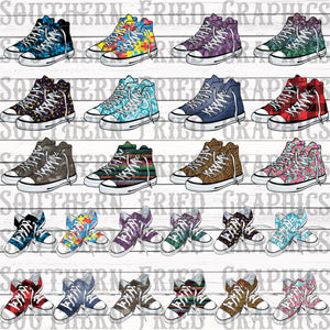 Shoes ONLY Converse MEGA Digital Graphic Bundle