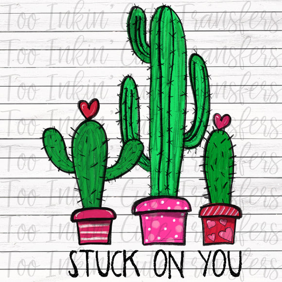 Stuck on You Cactus Transfer
