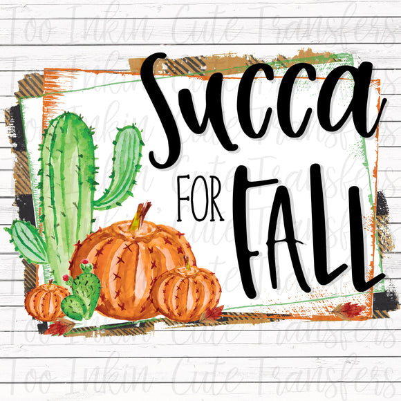 Succa for Fall Transfer