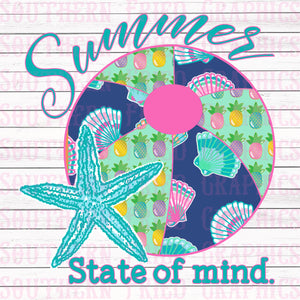 Summer State of Mind Digital Graphic