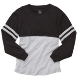 Pom Pom Spirit Jersey with Black or White Left Chest Monogram