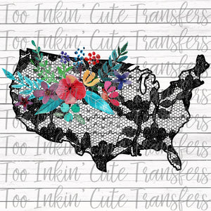 USA Lace Transfer