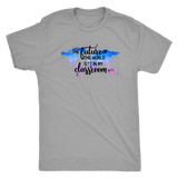 The Future of the World Sits in my Classroom Unisex Triblend Tee