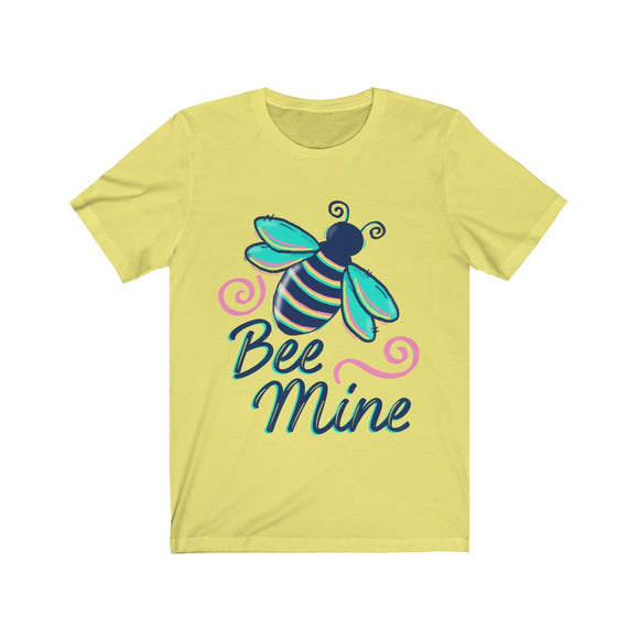 Bee Mine Unisex Jersey Short Sleeve Tee