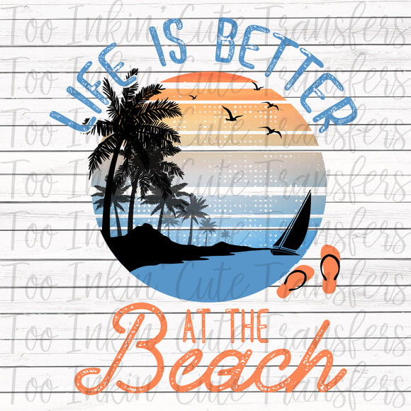 Life is Better at the Beach V2 Transfer