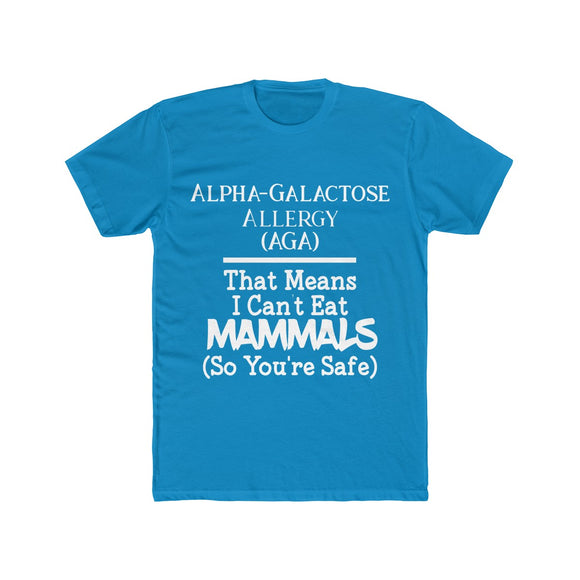You're Safe Alpha Gal Short Sleeved Tee