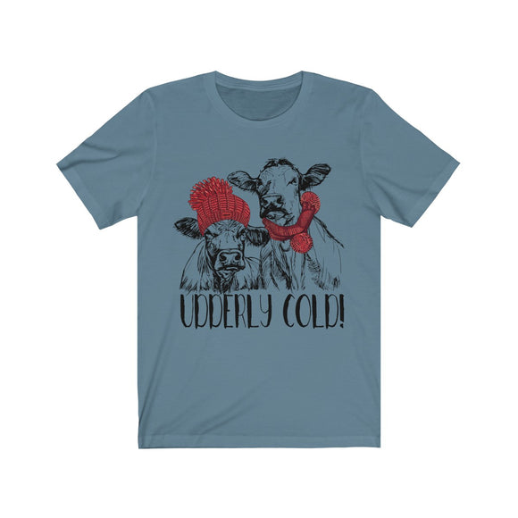 Udderly Cold Cows Short Sleeve Tee