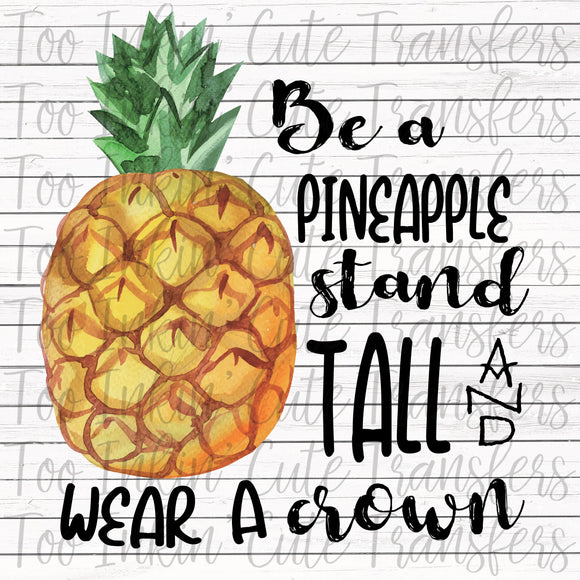 Be a Pineapple Transfer